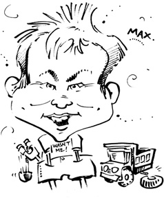 Calgary Party Caricature Artist