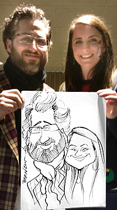 Tacoma Party Caricaturist
