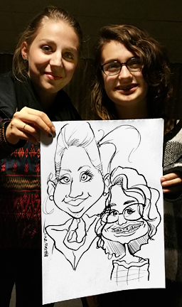 Tacoma Party Caricature Artist