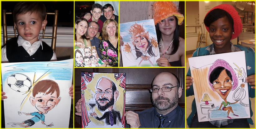 Western Long Island Party Caricaturist