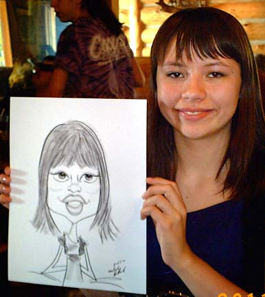 Milwaukee Party Caricature Artist