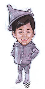 Los Angeles Gift Caricature Artist