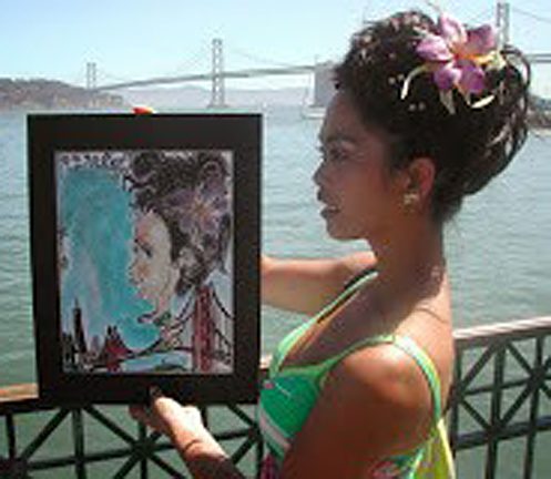Napa Valley Party Caricature Artists