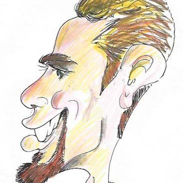 Party Caricature Artist Mike