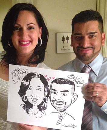 Tampa Party Caricaturist