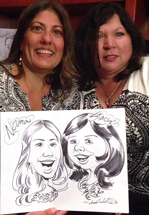 Tampa Party Caricature Artist