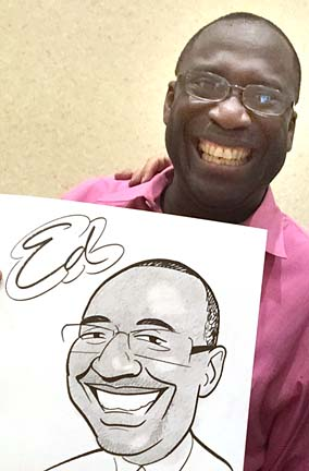 Tampa Party Caricatures