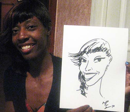 San Francisco Party Caricature Artists