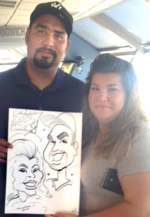 Las Vegas Party Caricaturist