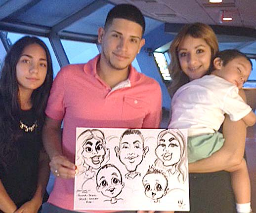 Las Vegas Party Caricature Artists