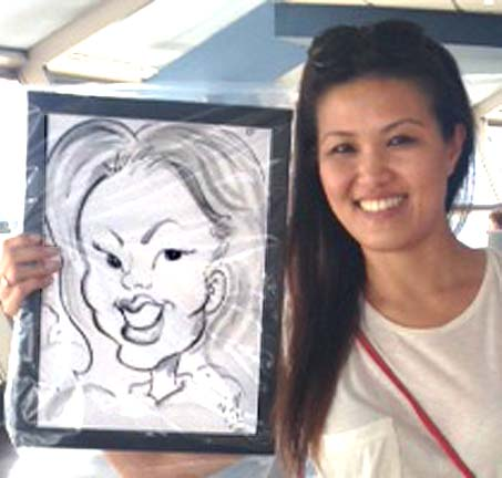 Las Vegas Party Caricature Artist
