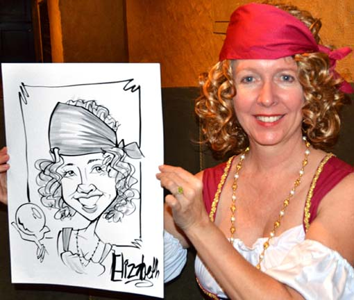 Indianapolis Party Caricaturist