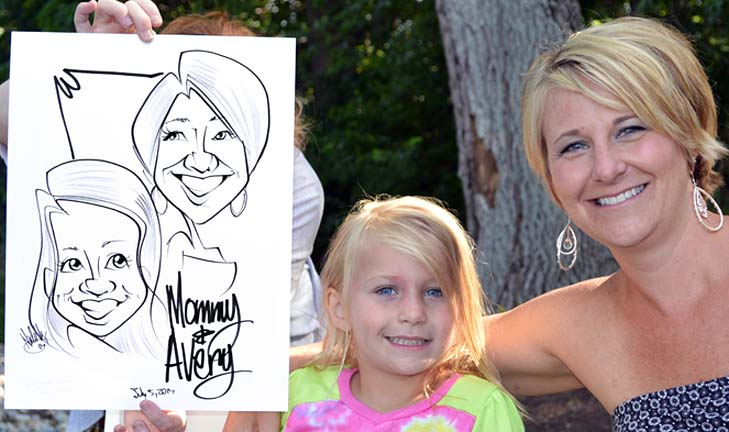 Indianapolis Party Caricature Artists