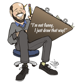 Party Caricature Artist Nick