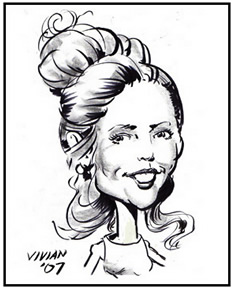 Central Long Island Party Caricatures