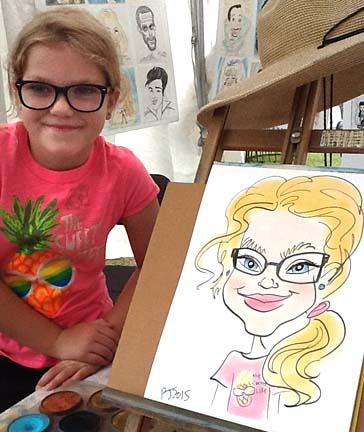 Augusta Party Caricature Artist