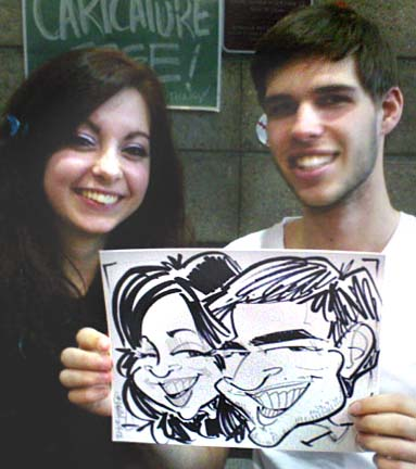 Lansing Party Caricature Artist