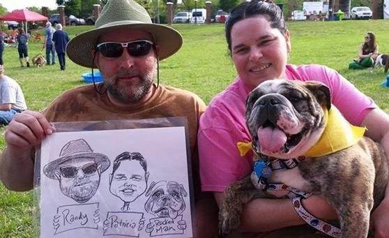 Charlotte Party Pet Caricatures
