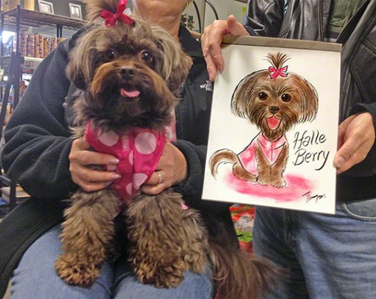 Waterbury Party Pet Caricatures