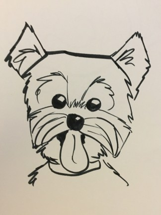 Seattle Party Pet Caricatures