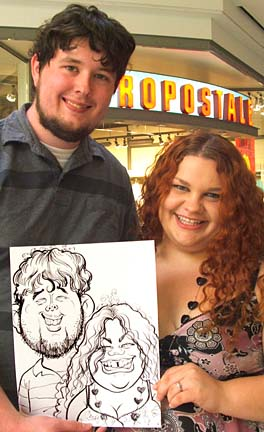 Myrtle Beach Party Caricaturist