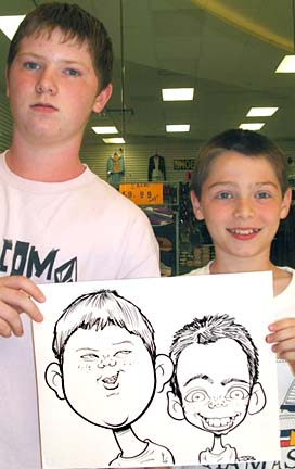 Myrtle Beach Party Caricature Artist