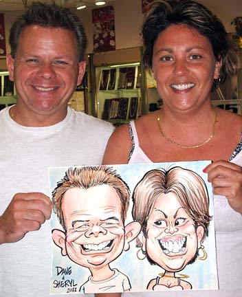 Myrtle Beach Party Caricature Artists