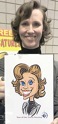Minneapolis-St Paul Digital Caricaturist