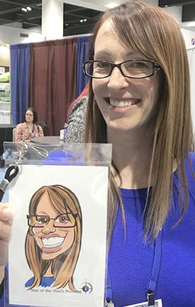Minneapolis-St Paul Digital Caricature Artist