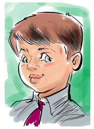 Ft Lauderdale Digital Caricature Artist