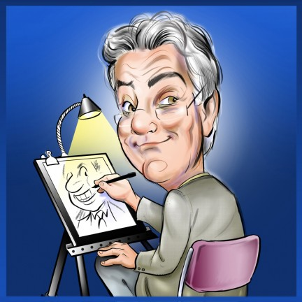 Digital Caricature Artist Ray
