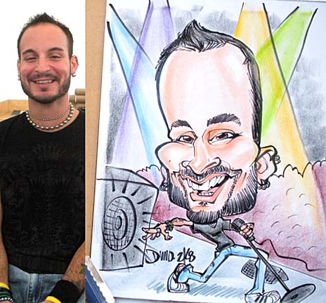 Buffalo / Niagara Falls Party Caricatures