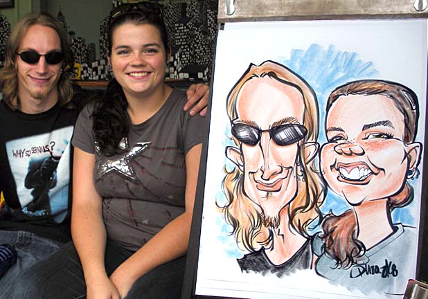 Buffalo / Niagara Falls Party Caricature Artists