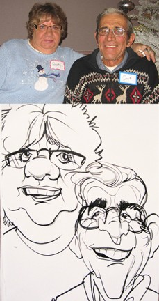 Minneapolis-St Paul Party Caricature Artist