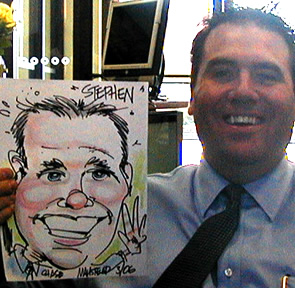 Lexington Party Caricaturist