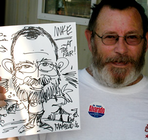Lexington Party Caricature Artist