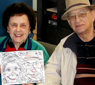 Lexington Party Caricatures
