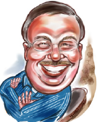 Party Caricature Artist Rob