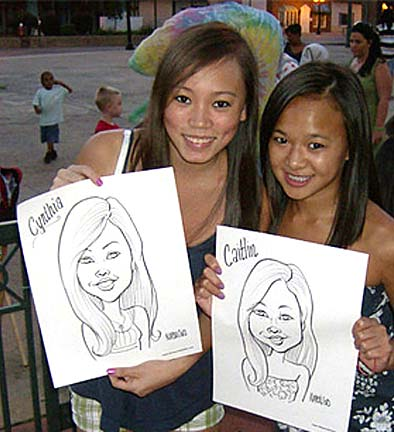 Cleveland Party Caricaturist