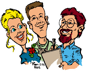 Party Caricature Artist Ron