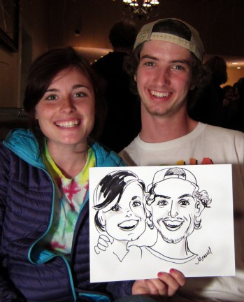 Camden Party Caricature Artists