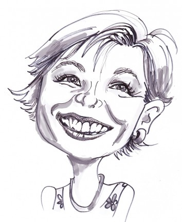 Party Caricature Artist Ruth