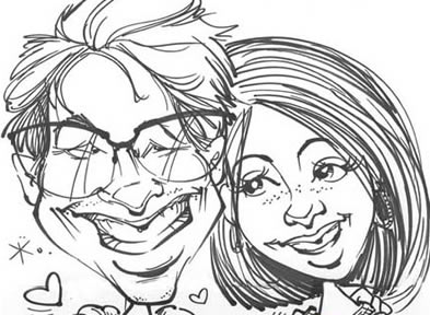 Orlando / Kissimmee Party Caricatures