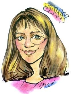 Party Caricature Artist Sally