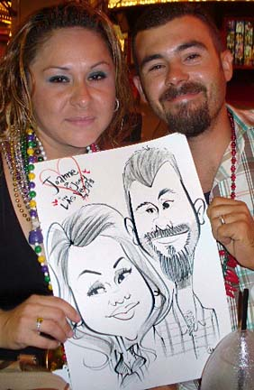 Barrie Party Caricaturist