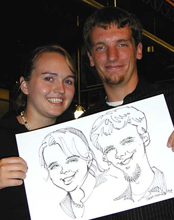 Pittsburgh Party Caricaturist