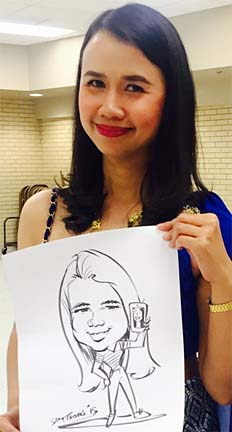 Pittsburgh Party Caricature Artist