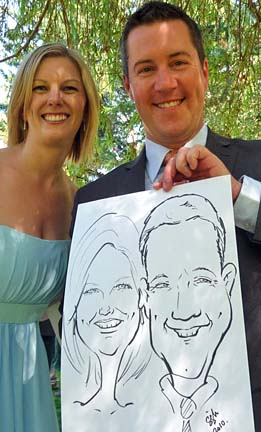 Vancouver Party Caricature Artists