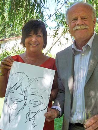 Vancouver Party Caricature Artist
