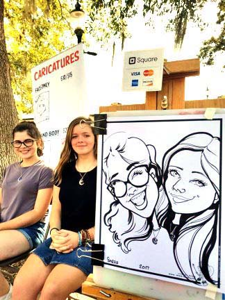 Orlando / Kissimmee Party Caricaturist
